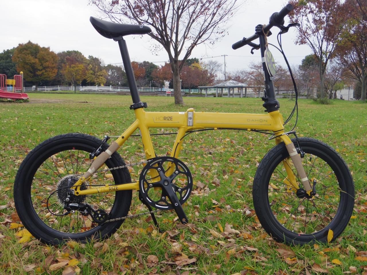 オシャレでコンパクトな自転車。。。DAHON