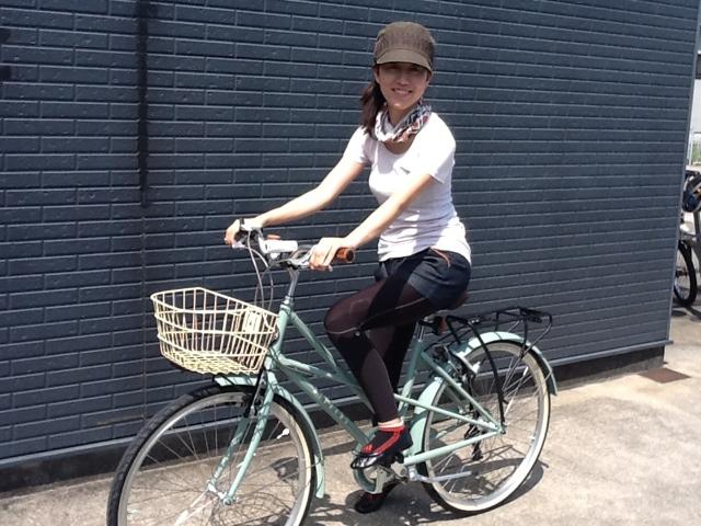 街乗り自転車でありながら軽い ...