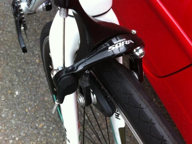 自転車の 自転車 ステム 軽量化 : Bianchi 入門ロード ...