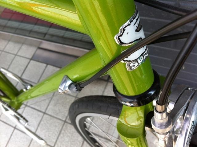 自転車の 自転車 フレーム カスタムペイント : SURLY 街乗ロード ペイサー完成 ...