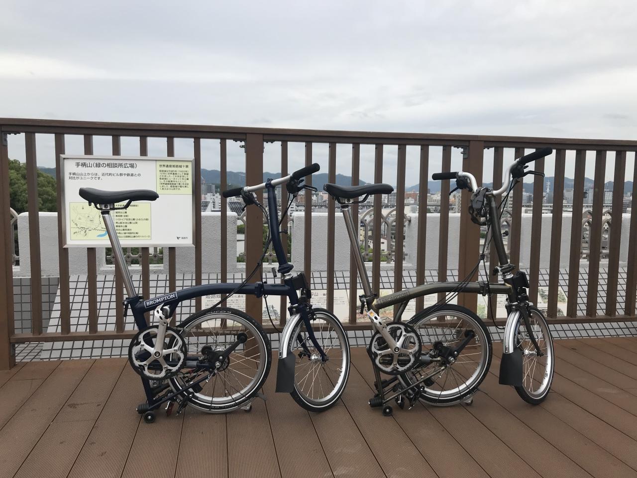 イギリスの折り畳み自転車de行くマチカフェサイクリング行ってきました!