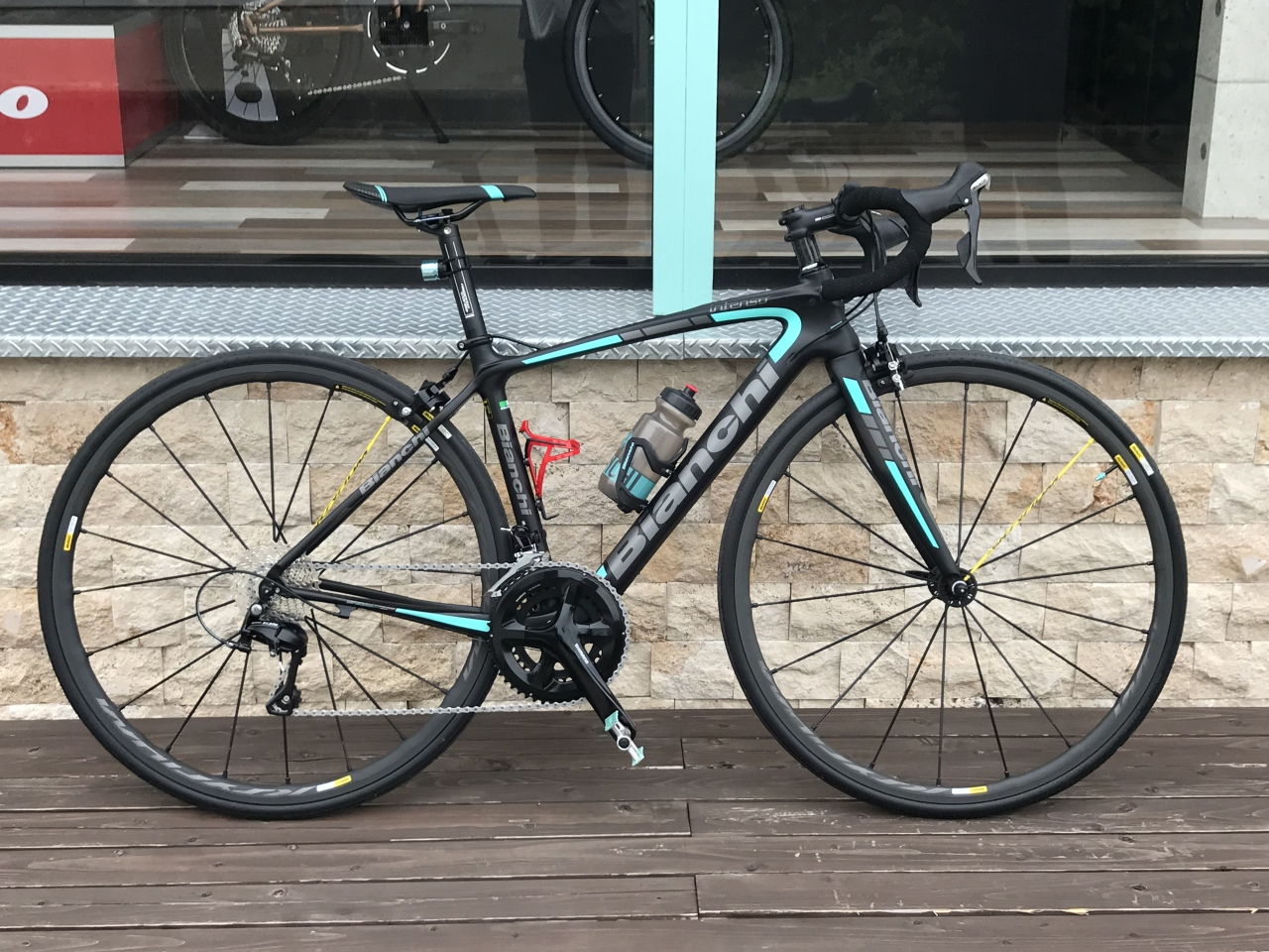 Bianchi INTENSO 105納車しました!From Tさま