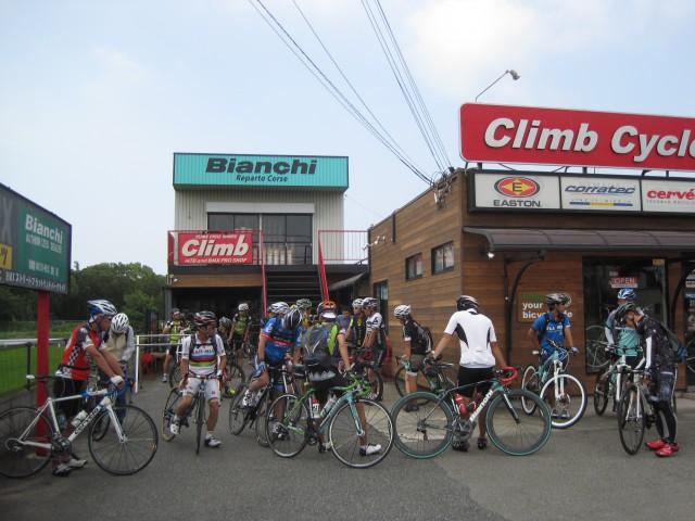 自転車道 加古川 自転車道 : 何時ものように集合した ...