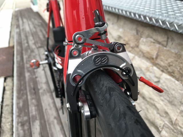 Mountain Bike Bicycle Alloy Front Rear V Brake Levers Caliper Set Tail Brake HI