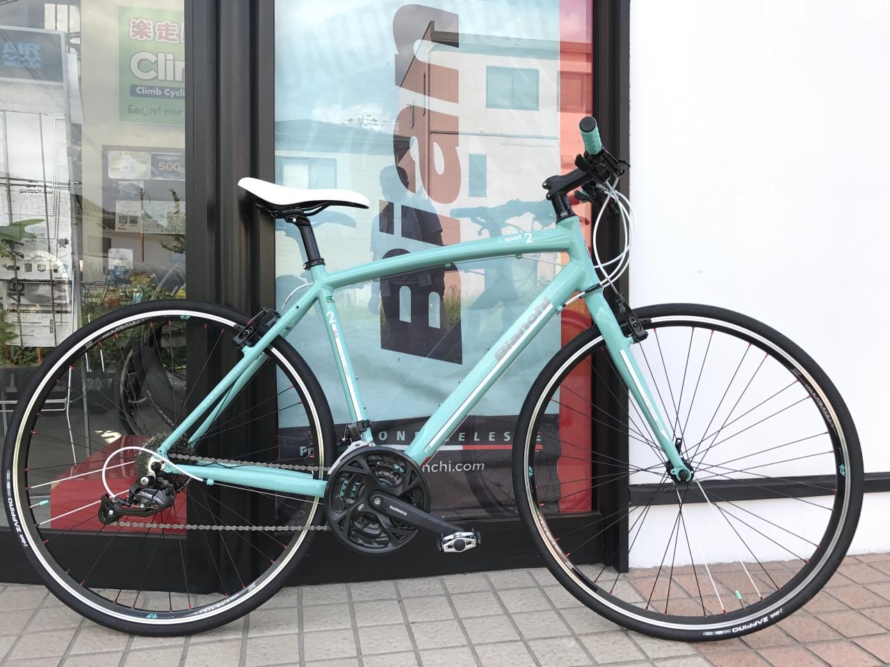 Bianchi camaleonte2 納車…from Uさま!