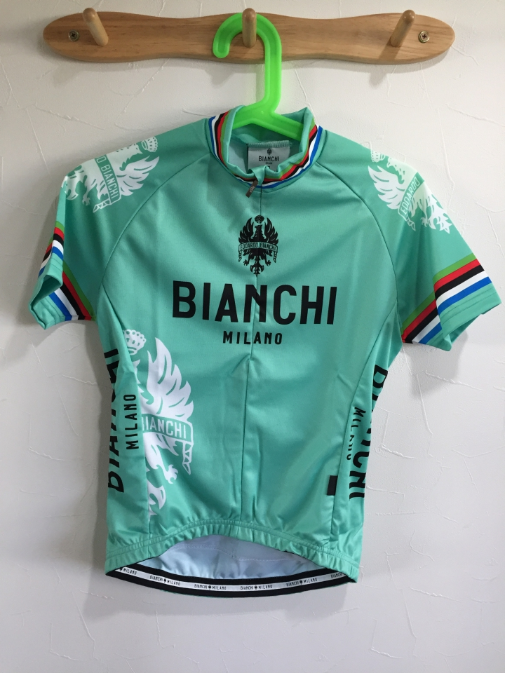 Bianchi Milano ビアンキ女性用・夏用サイクルジャージ入荷しました。