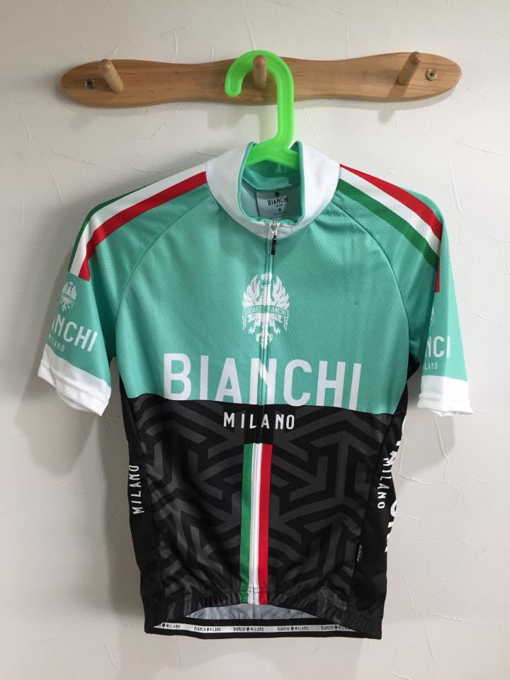 Bianchi Milano 夏用サイクルジャージ メンズ入荷しました。