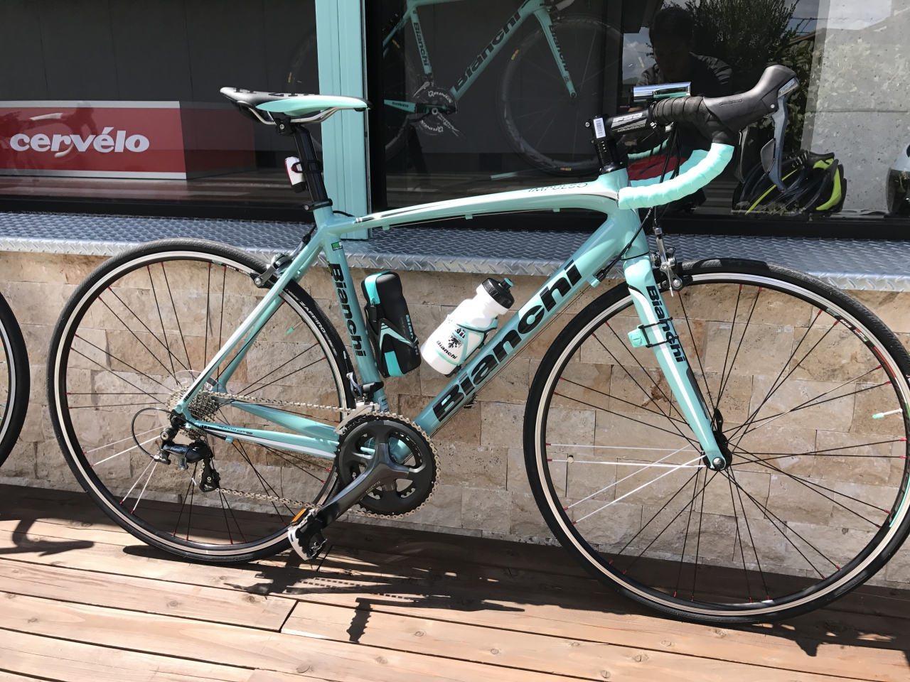 Bianchi IMPLUSO Tiagra 納車しました。From Mさま!