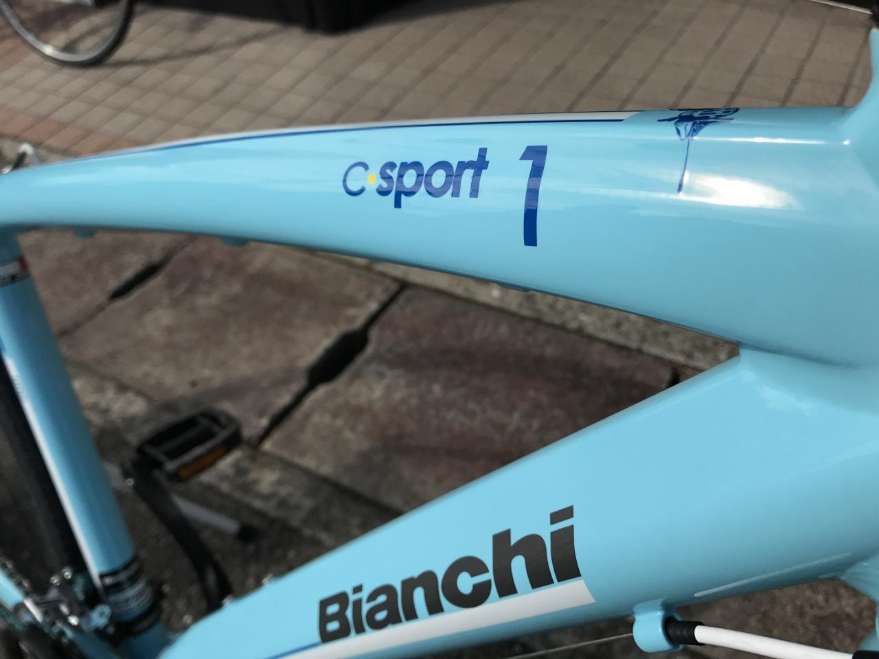 Bianchi Camaleonte1 納車…from Mさま!