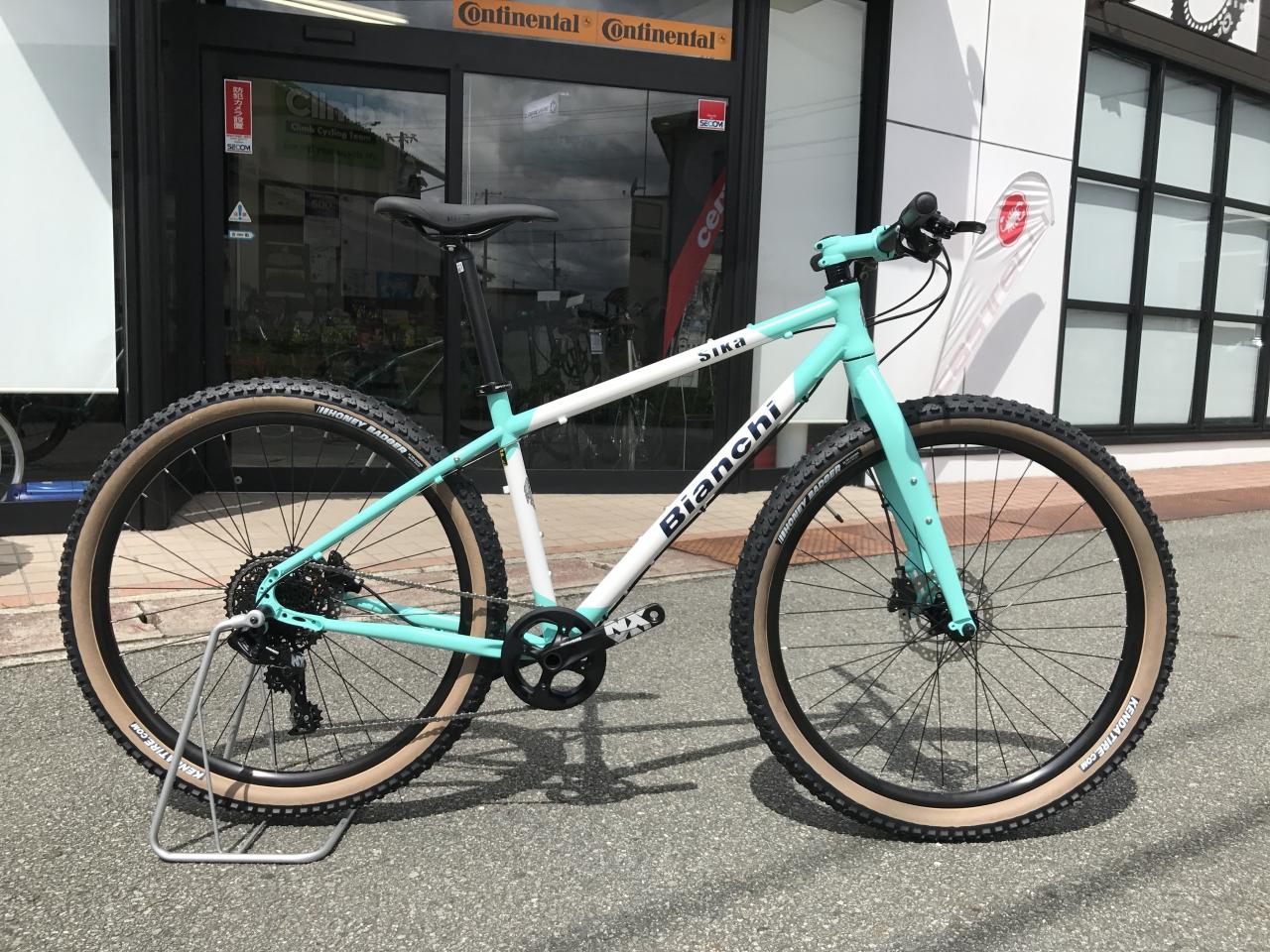 Bianchi SIKA MTB サイクリング~ツーリング~入荷しました!