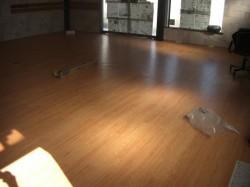Climb 内装は、床が綺麗に仕上がっています。
