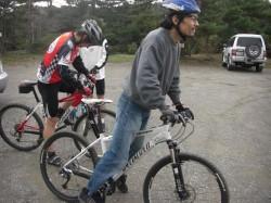 Climbサイクル練習会、午前は平荘湖サイクリング