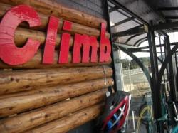 Climb 店頭看板