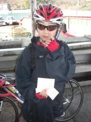 因島 土生港で切符を購入