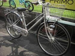 シティーサイクル改良作戦、出来上がった通学用自転車