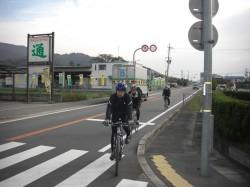 菖蒲谷に向かうClimbライダー
