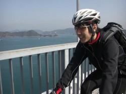 綺麗な景色の来島海峡大橋