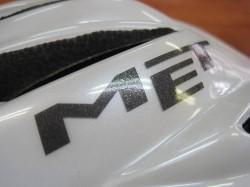 MET フォルテ カラー/ホワイト デカール