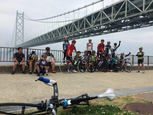 初心者向きClimbロングツーリング明石海峡大橋~垂水・明石 96km