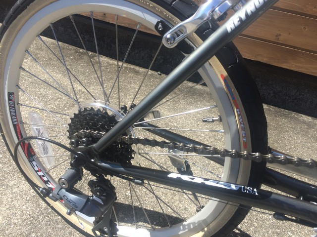 自転車の シマノ 自転車 カタログ 2013 : KHS F-20G折りたたみ自転車入荷!