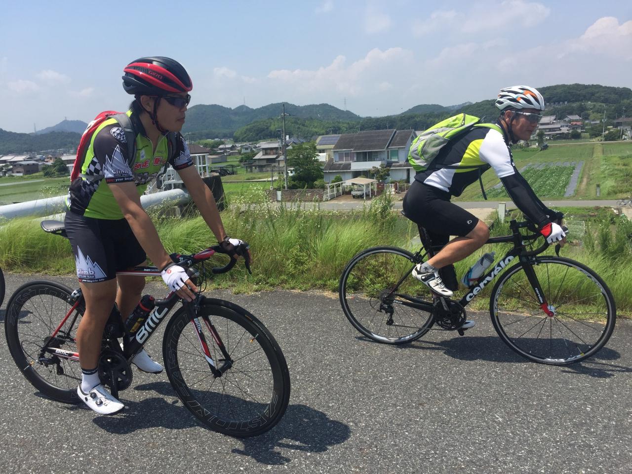 7/31 Climbツーリング ひまわり~佐用 100km 募る!